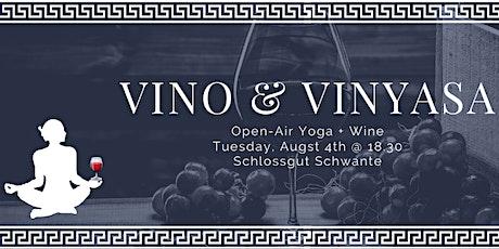 Vino & Vinyasa Open-Air @ Schloss Schwante tickets