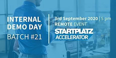 STARTPLATZ Accelerator Internal Demo Day - Batch #21 tickets