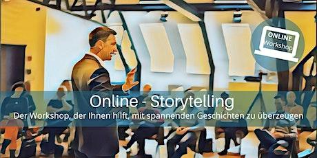 Online - Storytelling: Überzeugen und verkaufen mit guten Geschichten Tickets