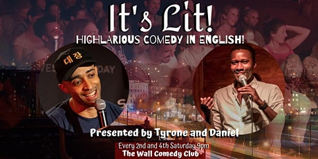 It's Lit!-English Language Comedy tickets