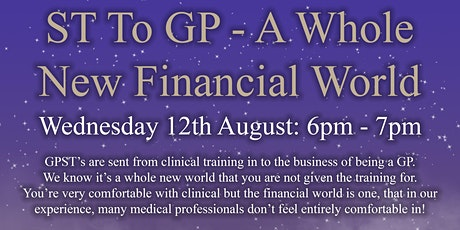 ST to GP - A Whole New Financial World tickets