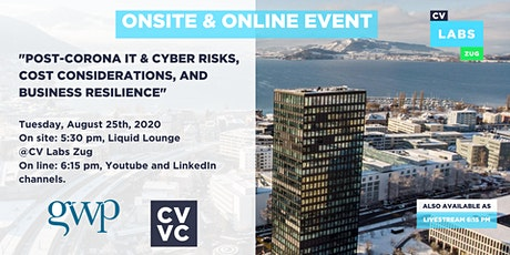 Post-Corona IT & cyber risks, cost considerations, and business resilience tickets
