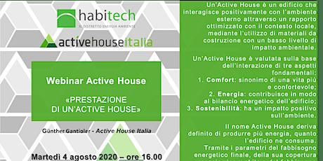 WEBINAR ACTIVE HOUSE ITALIA biglietti