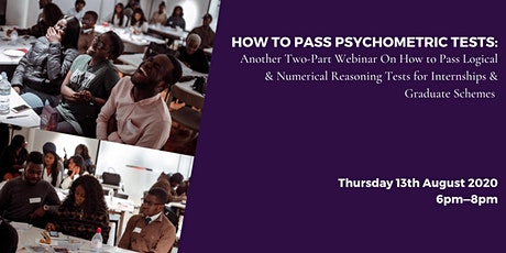 How To Pass Psychometric Tests - Session 2 tickets