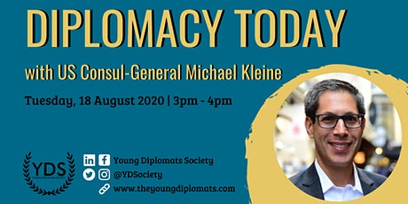 Diplomacy Today with CG Michael Kleine tickets
