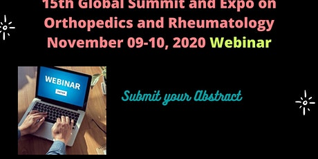 Orthopedics Summit 2020 Webinar tickets