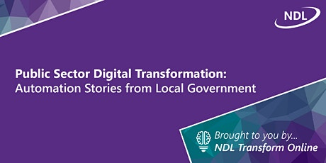 Public Sector Digital Transformation: Automation Case Studies from LG tickets