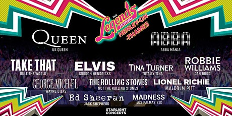 The Legends Festival  - Henley Showground, Henley-on-Thames tickets