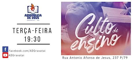 Culto de Ensino AD Gravataí - Matriz tickets