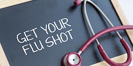 Flu vaccination tickets