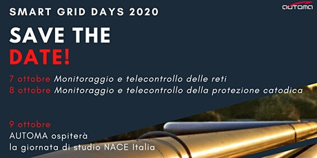 SMART GRID DAYS AUTOMA 2020 biglietti