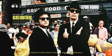 tepore visions:  The Blues Brothers in pellicola biglietti