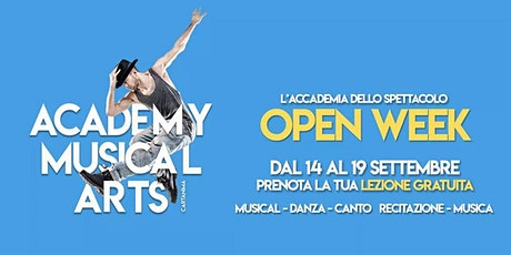 OPEN WEEK - ACADEMY MUSICAL ARTS biglietti