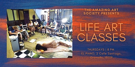 Sip and Sketch - Life Art Classes in Granada tickets