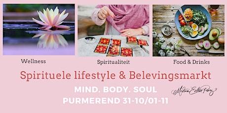 Spirituele Lifestyle en Belevingsmarkt 'Mind Body Soul' tickets