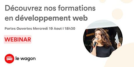 [WEBINAR] Special Développement Web : Le Wagon vous ouvre ses portes billets