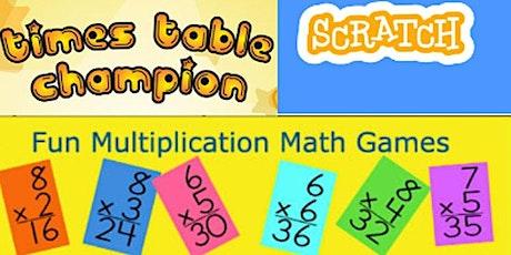 Scratch Kitty Coding Kids Maths WorkShop tickets