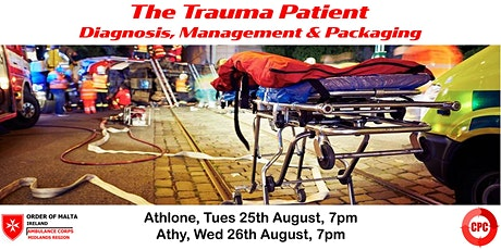 The Trauma Patient - diagnosis, management and packaging tickets
