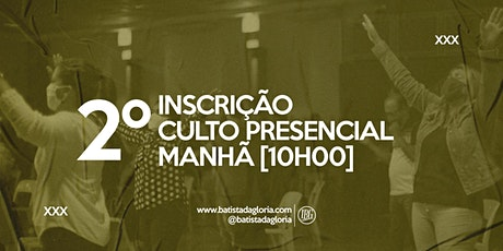 2a. CELEBRAÇÃO MANHÃ - 09/08 ingressos
