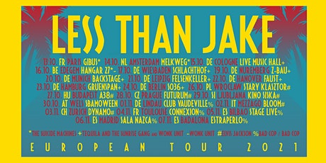 NEW DATE 16/10/21 - Less Than Jake - The Suicide Machines - mtba tickets