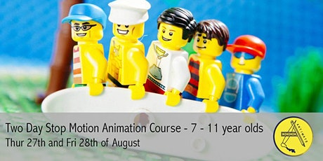Two Day Animation Course - Summer Holidays tickets