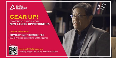 """GEAR UP! """"KNOW THYSELF"""" AND DISCOVER  NEW CAREER OPPORTUNITIES tickets"""