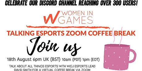 Talking Esports with Women in Games tickets