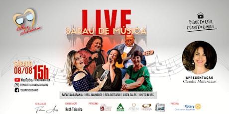 Live Sarau de Música em prol do Olhar Solidário ingressos