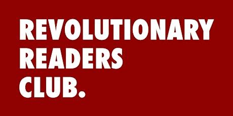Revolutionary Readers Club Book Meet - 28.08.20 tickets