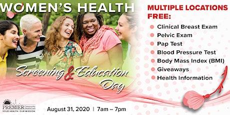 Women's Health - Screening & Information Day tickets