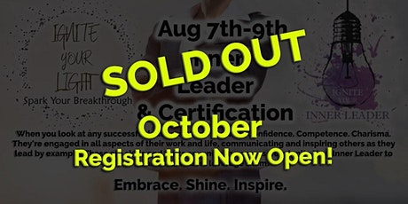SOLD OUT Virtual Ignite Your Inner Leader tickets