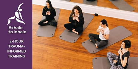 Trauma-Informed Yoga Intensive Workshop [Four-Hour Training Online] tickets