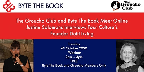 Meet Online with  Four Culture's Founder, Dotti Irving tickets
