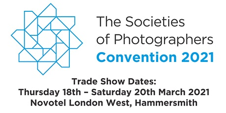 The Societies of Photographers 2021 London Photo Trade Show tickets