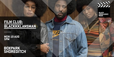 Boxpark Film Club: BlacKKKlansman tickets