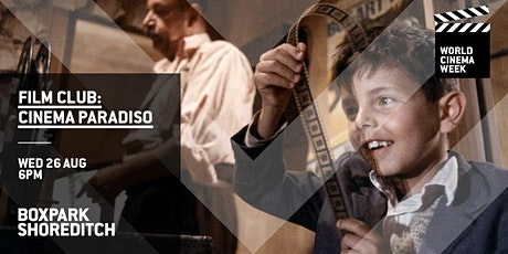 Boxpark Film Club: Cinema Paradiso tickets