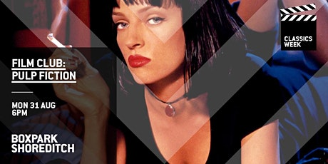 Boxpark Film Club: Pulp Fiction tickets