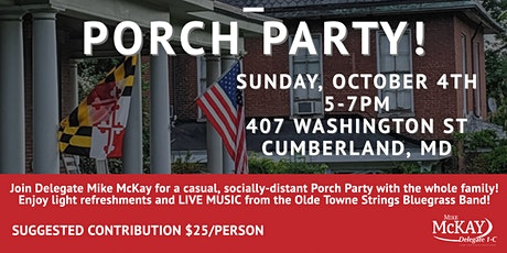 Delegate Mike McKay's Porch Party! tickets
