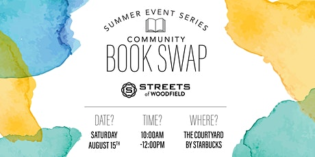 Community Book Swap tickets