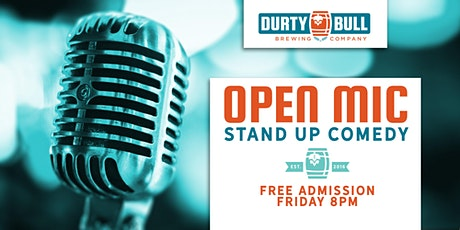 Open Mic Comedy - Social Distancing Edition tickets