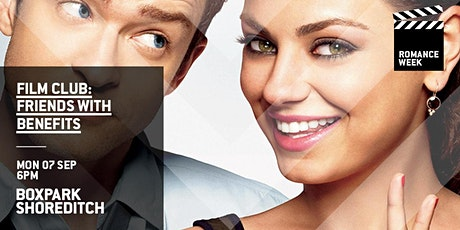 Boxpark Film Club: Friends With Benefits tickets