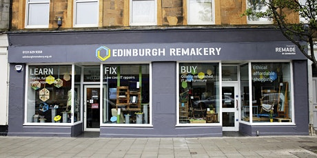 The Edinburgh Remakery: An Introduction to Repair & Reuse Social Enterprise tickets