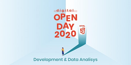 DIGITAL OPEN DAY DEVELOPMENT & DATA ANALYSIS CATANIA biglietti