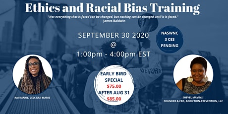 Ethics and Racial Bias Training tickets
