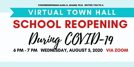 School Reopening During COVID-19 Town Hall tickets