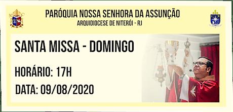 PNSASSUNÇÃO CABO FRIO - SANTA MISSA - DOMINGO - 17H - 09/08/2020 ingressos