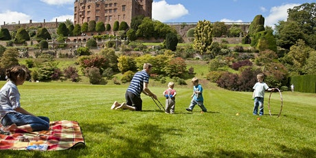 Timed entry to Powis Castle and Garden (10 August - 16 August) tickets
