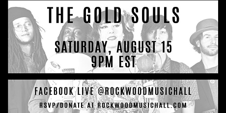 The Gold Souls - FACEBOOK LIVE tickets