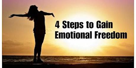 4 Steps to Gain Emotional Freedom Webinar tickets