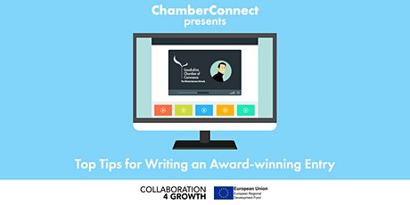 ChamberConnect: Top Tips for Writing an Award-winning Entry tickets